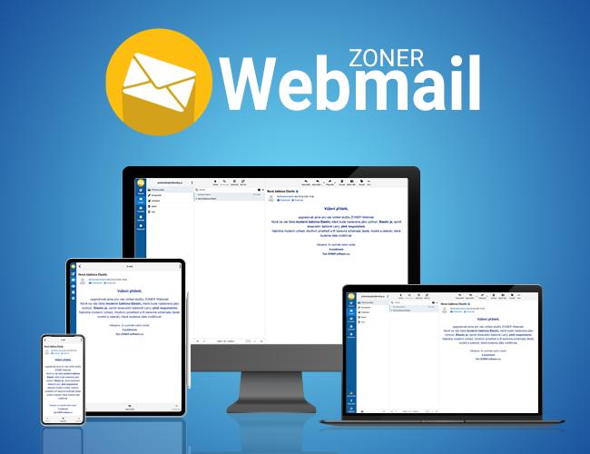 Webmail v novém